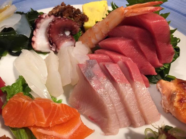 Deluxe Sashimi ($35)