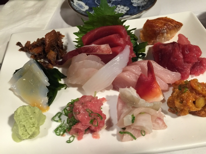 Sashimi Dinner ($26)